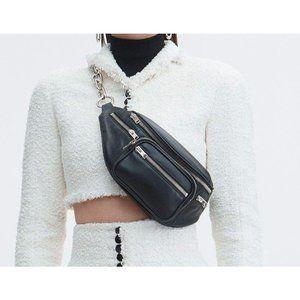 brand new Alexander Wang fanny pack in black lambs